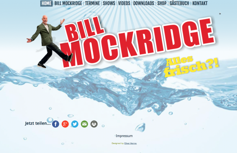 Homepage Bill Mockridge